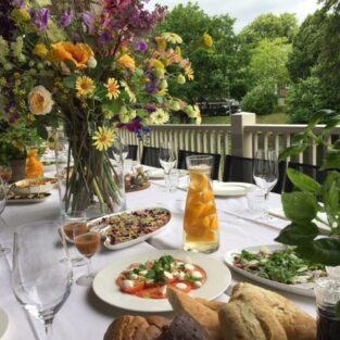 Italiaanse tafel huwelijksdiner Welgelegen Groenlo