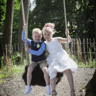 Bruidskindjes op bruiloft Welgelegen Groenlo