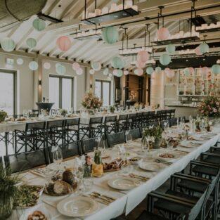 Huwelijksdiner aankleding Boothuis Welgelegen Groenlo