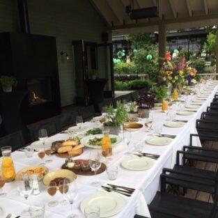 Italiaanse tafel veranda Boothuis Welgelegen Groenlo