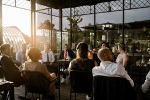 Avondfeest bruiloft veranda Welgelegen Groenlo